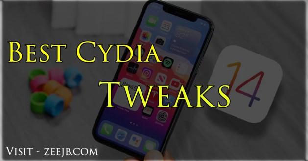 best Cydia tweaks for iOS 14, iOS 14.1, iOS 14.2, iOS 14.3.