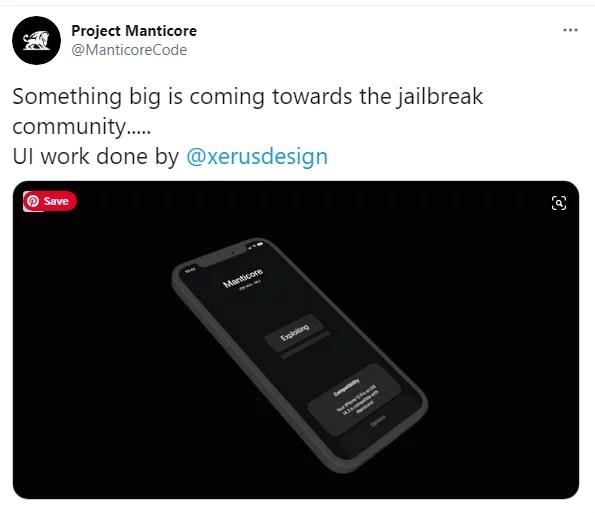 iOS 14 to iOS 14.3 manticore jailbreak