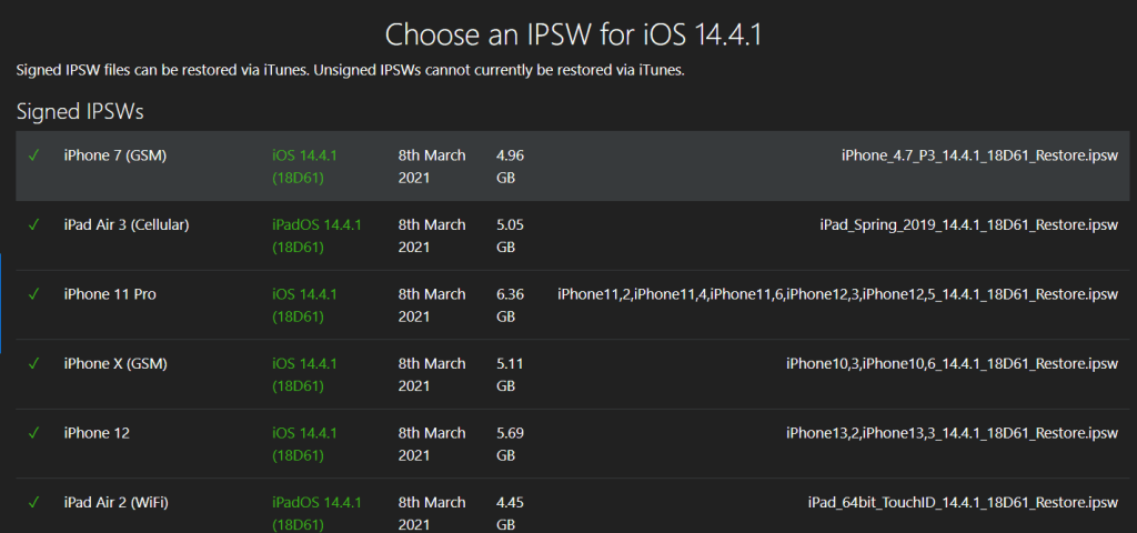 iOS 14.4.1 released for 38 devices