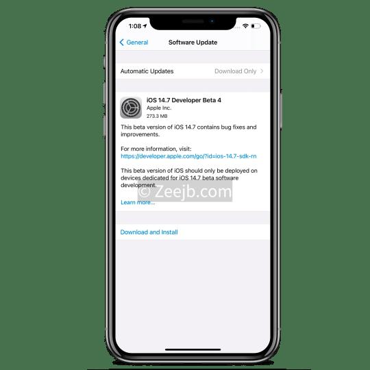 iOS 14.7 Jailbreak, new features, updates, news