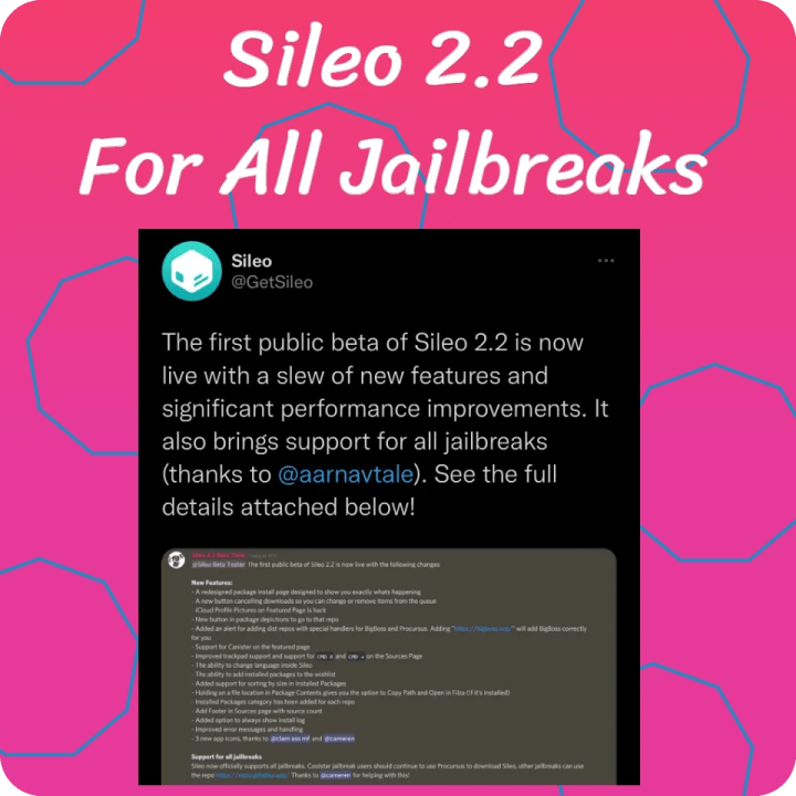 The first public beta of Sileo 2.2 is now live with a slew of new features and significant performance improvements.