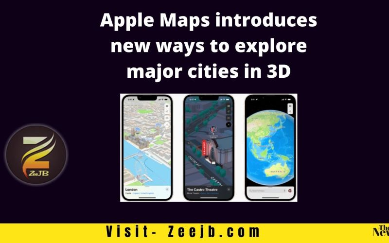 apple map features iOS 15