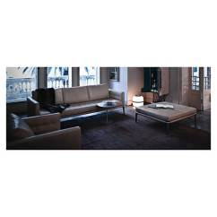 3 Sofas Amsterdam Tribecca Home Knightsbridge Beige Linen Tufted Scroll Arm Chesterfield Sofa Canapé Volage Cuir Noir (p. Starck) - Cassina Pas Cher ...