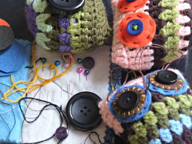 new crochet owls
