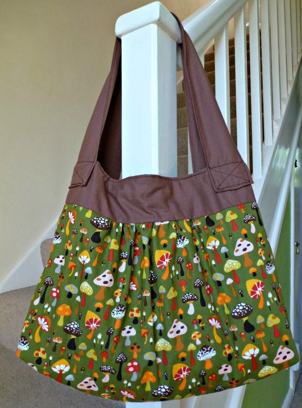 handmade handbag.