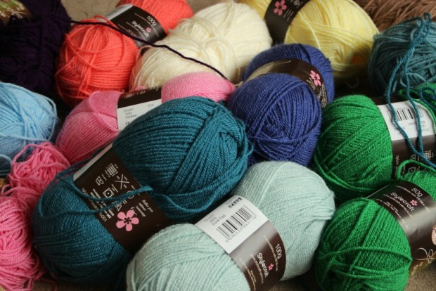 Yarn ready for Spice of Life