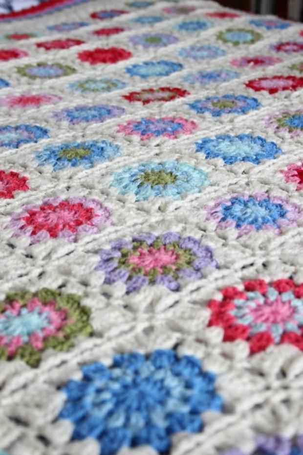 angled crochet