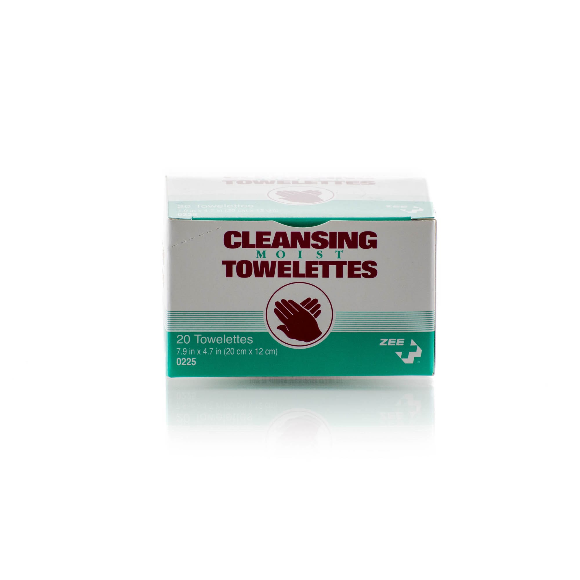 cleansing moist towelettes 20