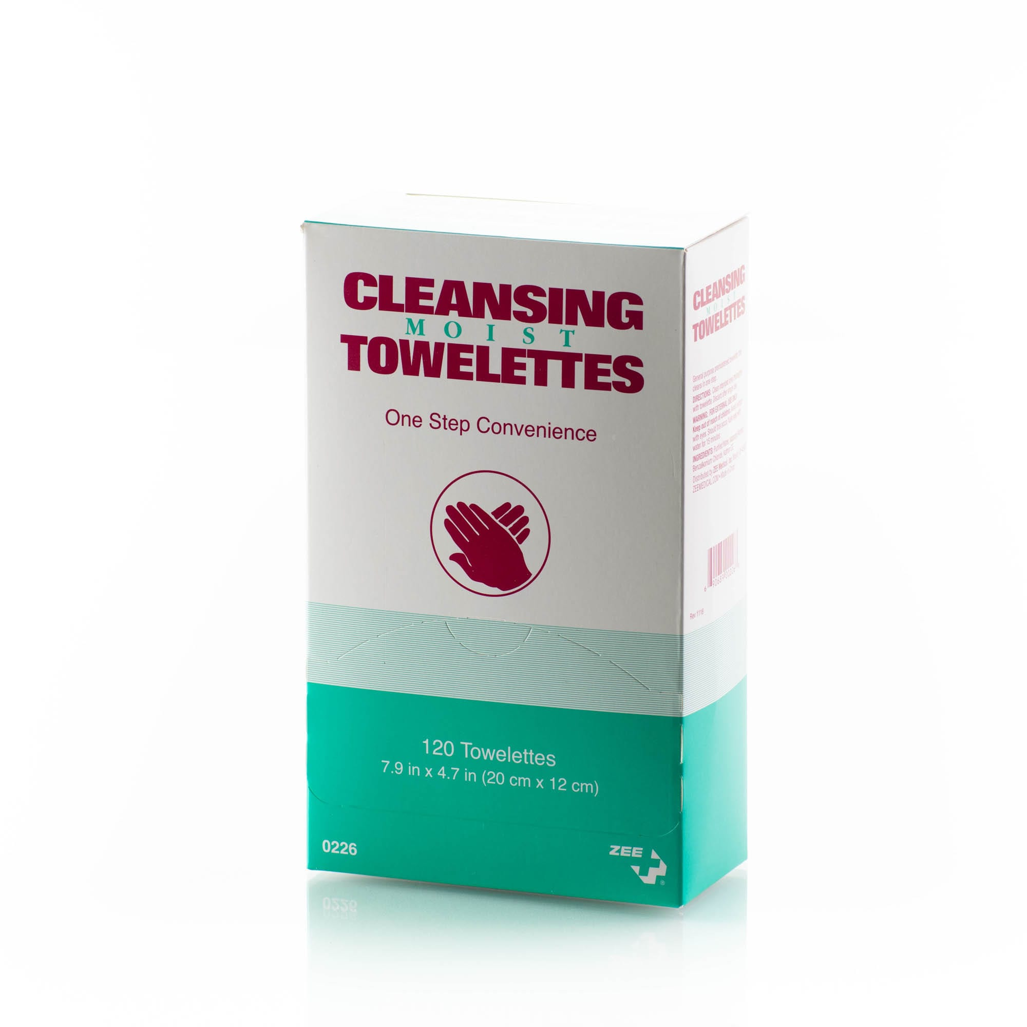 cleansing moist towelettes 120