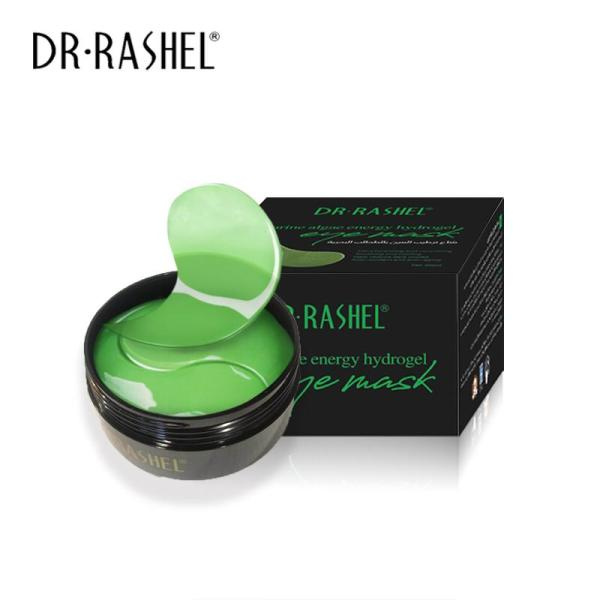 Dr Rasheel Hydrogel Eye Mask (Gold Black Peral, Aloe Vera, 24k Gold)