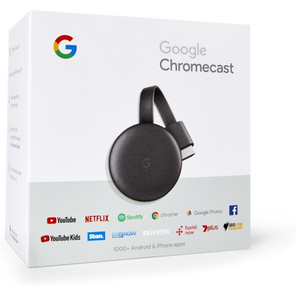 Google Chrome Cast 3
