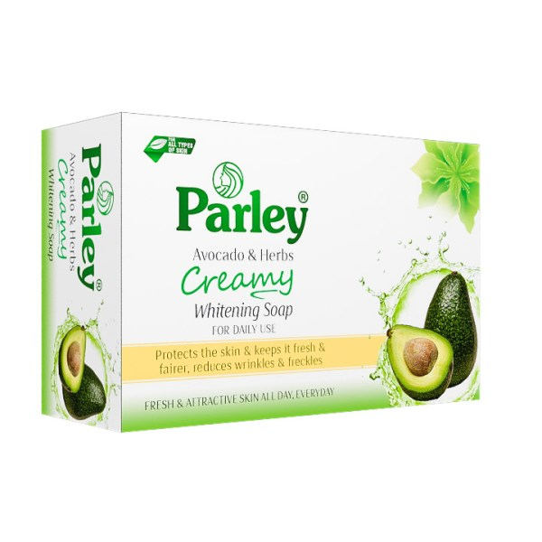 Parley Avocado & Herbs Creamy Soap 4 Pcs