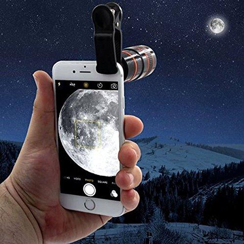 8X-Optical Zoom Telescope For Smartphone