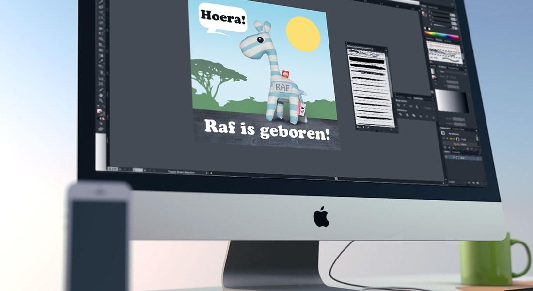 Design desktop Zeeuwleeuw