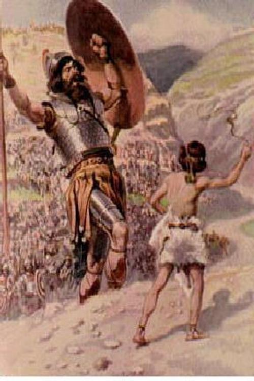 העולם אוהב דוד מול גוליית ואנחנו מצטיירים כגוליית. (מתוך הפרזנטציה של מורל)