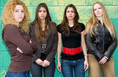 ארבע הנערות שמצאו את אימותיהן במהלך הסרט שיזמה נילי טל