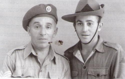 """האב חבר """"הגנה"""" מתגייס לצבאהבריטי.הבןבמשטרת הישובים עומד להתנדב ללח""""י בלי ידיעת אביו."""