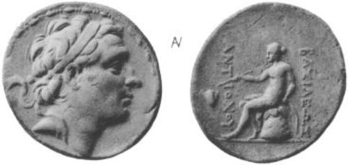 מטבעןת כסף עם דיוקן אנטיוכוס השלישי (ויקישיתוף)