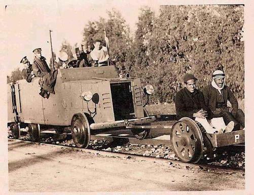 הבריטים השתמשו בערבים כבני ערובה  נגד מיקוש רכבות