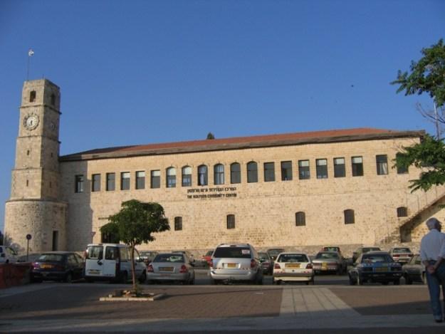 בנין הסאראיה. הרצח בוצע בחצר הפנימית לתוכה כונסו יהודי צפת. ויקישיתוף