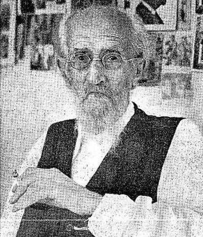 מנשה מאירוביץ  שהוציא את הכינוס הראשון של שירי ארץ ישראל