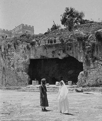 קברות המלכים ראשית המאה ה-20 (צילום אמריקן קולוני)