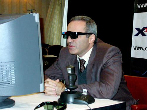 קספרוב במשחק נגד מחשב