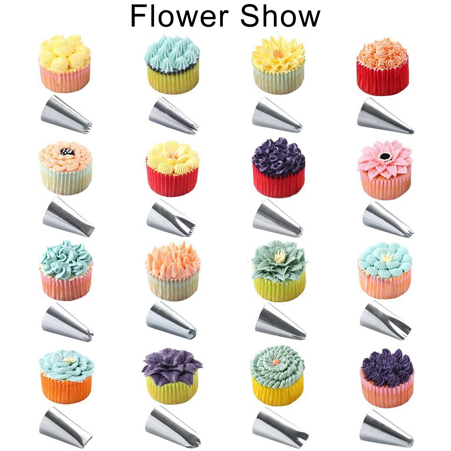 Cake Cupcake Decorating Tool 49 Sets Professional Supply Diy Baking