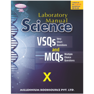 Millennium's Science Laboratory Manual (MCQ) Textbook for Class 10