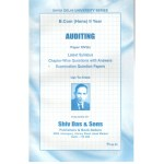 Satish & Brothers Previous Years Solved Papers Auditing B.Com Hons (2nd Year)