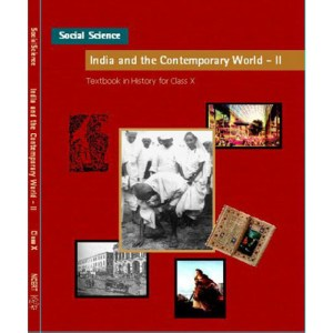 NCERT India and The Contemprory World 2 Textbook of History for Class 10