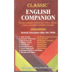 King Champion Guide English Companion B.A (Hons) 3rd Year