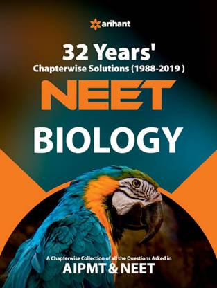 32 Years' Chapterwise Solutions Cbse Aipmt & Neet Biology 2020