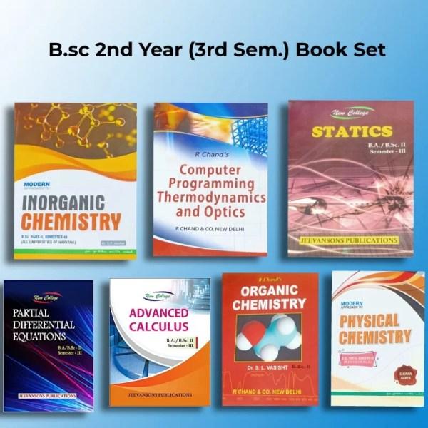 MDU B.sc 2nd year all Books