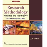 Research Methodology: Methods and Techniques by C R Kothari