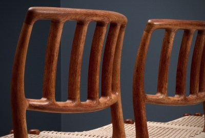 Dining Chairs by Niels Otto Moller_Teak and newly upholstered_Danish Corc_Denmark_1960s5H0A4281_zeger van Olden_mid century_mid century modern_amsterdam_italian_scandinavian