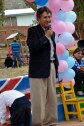 Rolando, Emma's husband, giving a speech at the graduation ceremony (Mallasa Bolivia)