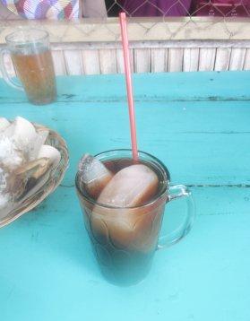 just an ordinary iced tea.