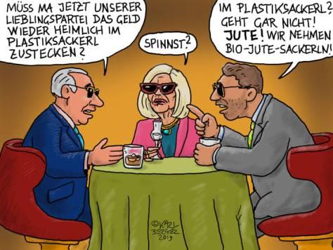 Jute statt Plastik