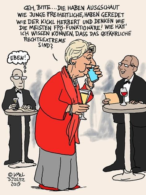 Ursula Stenzel, die FPOE und die Identitaeren