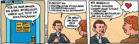 war room2: Das ÖVP Wahlprogramm