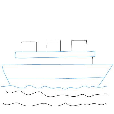 Schiff zeichnen lernen schritt fr schritt tutorial
