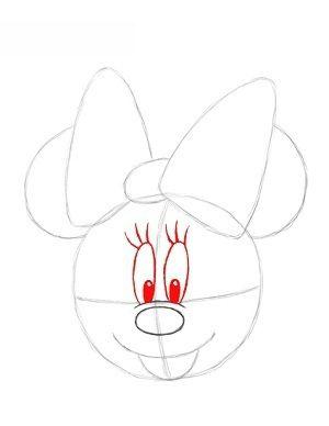 minnie mouse zeichnen # 14