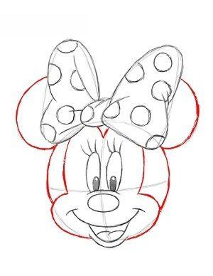 minnie mouse zeichnen # 2