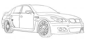 BMW zeichnen lernen schritt für schritt tutorial