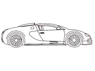 Bugatti Veyron zeichnen lernen schritt für schritt