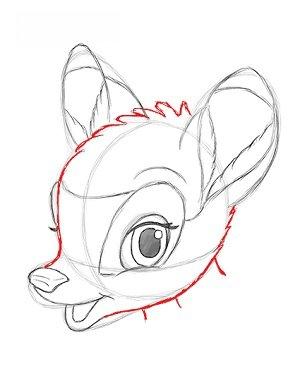Bambi Zeichnen Lernen Schritt Fr Schritt Tutorial