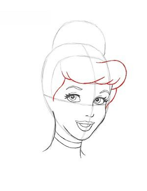 Aschenputtel zeichnen lernen schritt für schritt tutorial