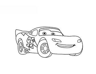 Lightning McQueen zeichnen lernen schritt für schritt
