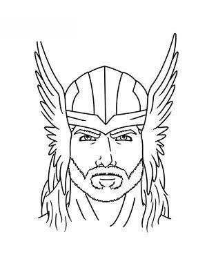 Thor zeichnen lernen schritt für schritt tutorial